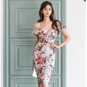 Wholesale Fashion dress K5720