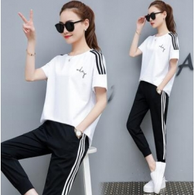 Wholesale Fashion 2-piece tracksuit T10964