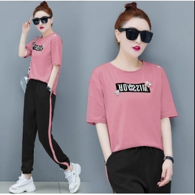 Wholesale Fashion 2-piece tracksuit T10970
