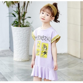Wholesale Kids dress PQ2381