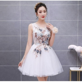 Wholesale Fashion mini prom dress 51052