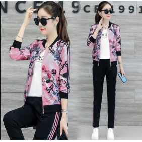 Wholesale Fashion 3-piece set tracksuit T11002