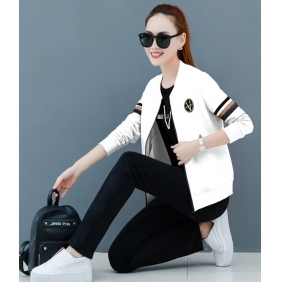 Wholesale Fashion 3-piece set tracksuit T11009