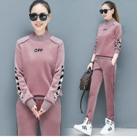 Wholesale Winter 2-piece set tracksuit T11015