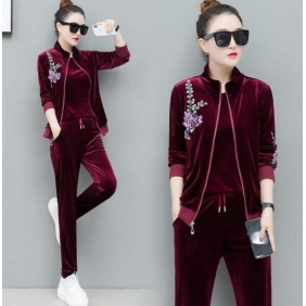 Wholesale Fashio 3-piece set tracksuit T11016