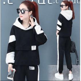 Wholesale Winter 2-piece set tracksuit T11018