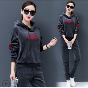 Wholesale Winter 2-piece set tracksuit T11019
