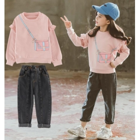 Wholesale Kids 2-piece set suit PQ2520