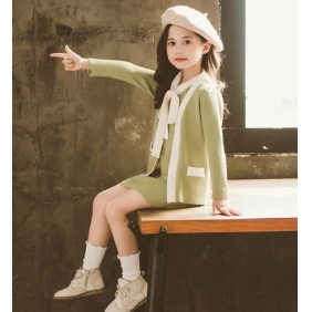 Wholesale Kids 2-piece set dress PQ2521