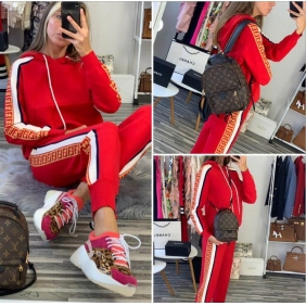 Wholesale Fashion tracksuit T11076