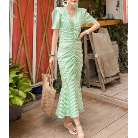 Wholesale Fashion dress K7332