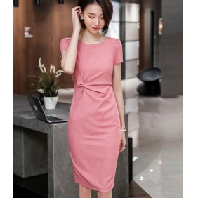 Wholesale Office dress S2372 One-piece set dress