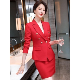 Wholesale Fashion 2-piece set office dress S2414