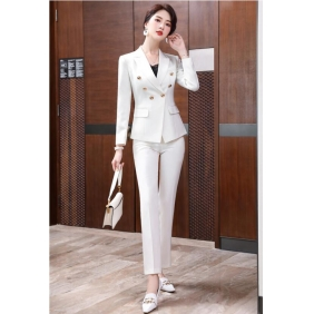 Wholesale Fashion 2-piece set office suit S2415