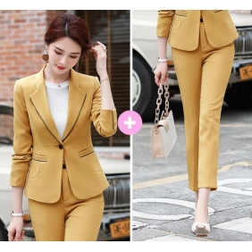 Wholesale Fashion 2-piece set office suit S2419