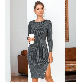 Wholesale Fashion knit dress A22884