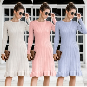 Wholesale Fashion knit dress A22892