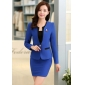 Wholesale Fashion 3-piece set suit with the brooch S2008 Dark blue