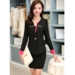 Wholesale Fashion 3-piece set suit S2009 Black