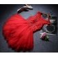 Wholesale Fashion mini gown 29996 Red