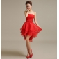 Wholesale Fashion mini prom dress 50111 Red