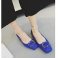 Wholesale Fashion flattie J90620 Blue