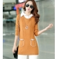 Wholesale Fashion sweater long knit blouse  A14784