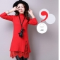 Wholesale Fashion sweater long knit blouse A14787