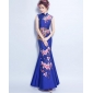 Wholesale Fashion long prom dress 50170 Blue