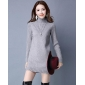 Wholesale Fashion long sweater knit dress A15942