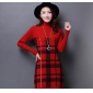 Wholesale Fashion long sweater knit dress A15943