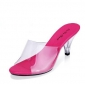 Wholesale Fashion sandals J91275 Rose pink