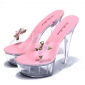 Wholesale Fashion sandals J91277 Pink