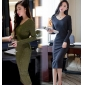 Wholesale Fashion knit dress A16073