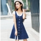 Wholesale Fashion 2-piece set denim dress A16112