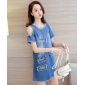 Wholesale Fashion denim dress A16300