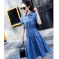 Wholesale Fashion denim dress A16511
