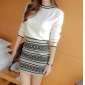 Wholesale Fahsion knit 2-piece set dress A17766