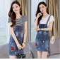 Wholesale Fahsion 2-piece set denim dress A18933