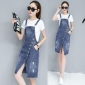 Wholesale Fashion 2-piece set denim dress A18935