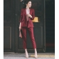Wholesale Fashion 2-piece set suit K4677