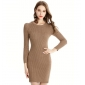 Wholesale Fashion knit dress C1601