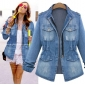 Wholesale Fashion denim coat W5583