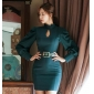 Wholesale Fashion dress with the belt K5204