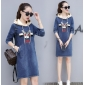 Wholesale Fahsion denim dress A19697