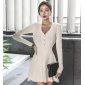 Wholesale Fashion knit dress K5287