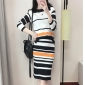 Wholesale Fashion 2-piece set knit dress A19771