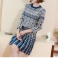Wholesale Fashion 2-piece set knit dress A19898