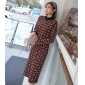Wholesale Fashion knit dress A19901