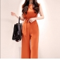 Wholesale Fashion jumpsuit with the belt K6021
